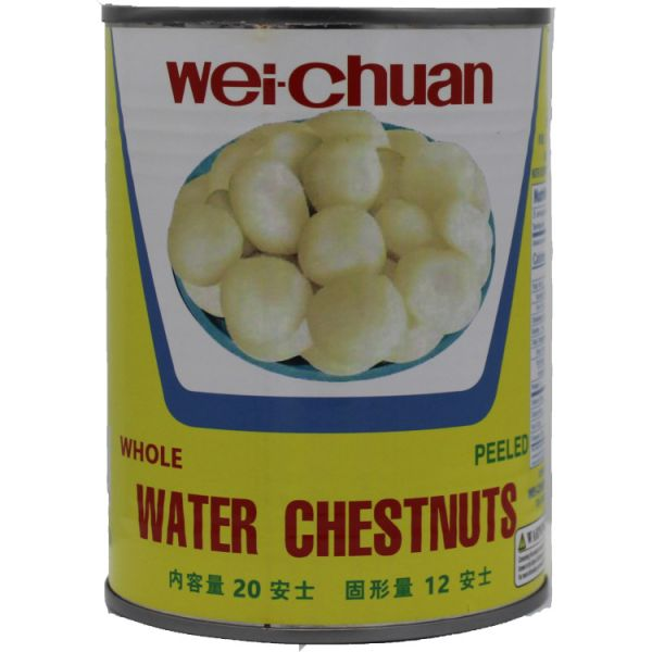 Water Chestnut Whole (20oz)