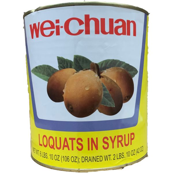 FK CANNED LOQUATS M SIZE