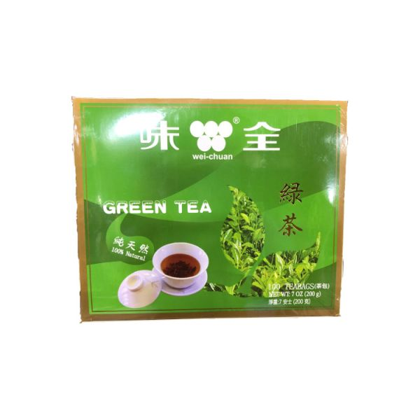 GREEN TEA BAG W/STRING