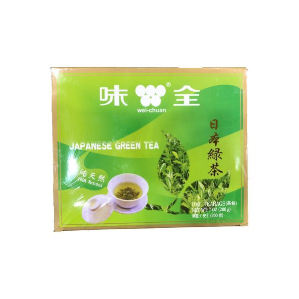JAPANESE GREEN TEA BAG W/STRING