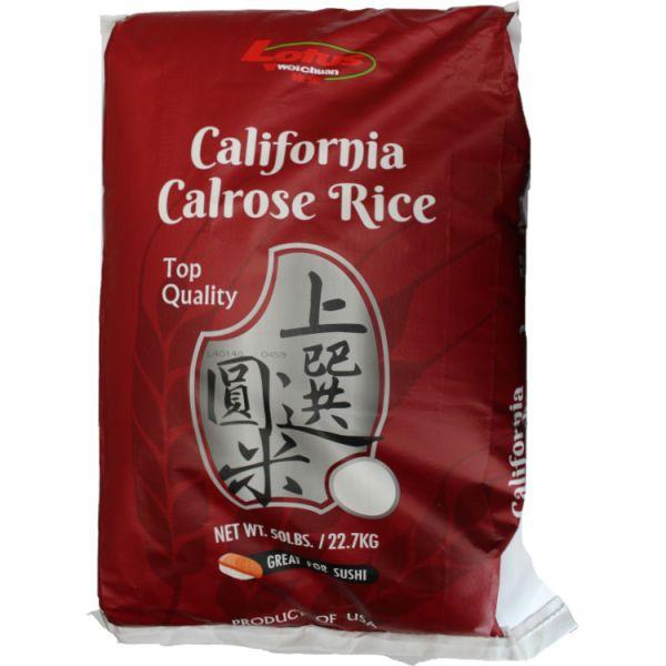 Lotus Calrose Rice -50LB