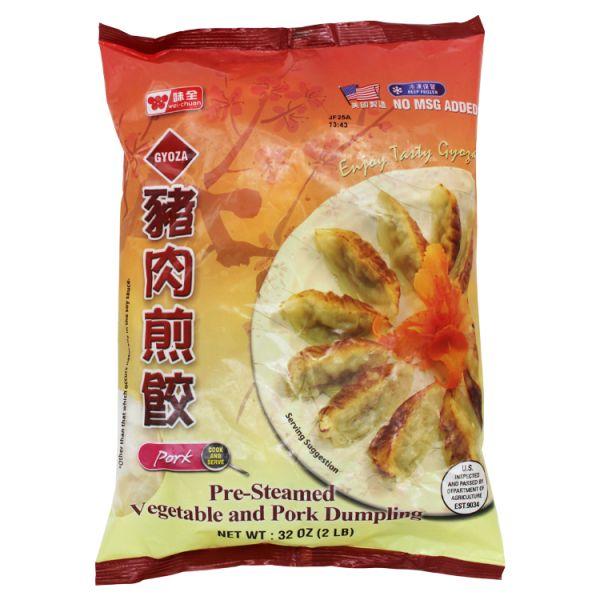 Vegetable & Pork Gyoza Dumpling