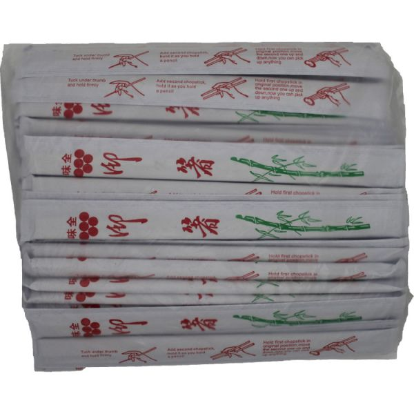 OPP WRAPPED BAMBOO CHOPSTICK