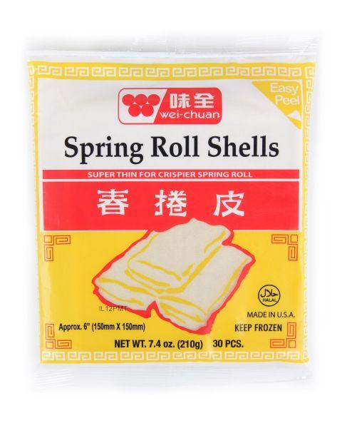 "6"" Spring Roll Shell"