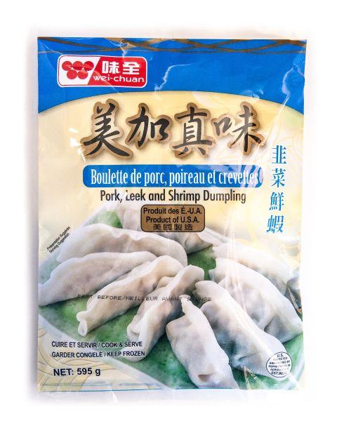 Mei Jia Jen Wei Pork, Chinese Leek & Shrimp Dumpling (Canada)