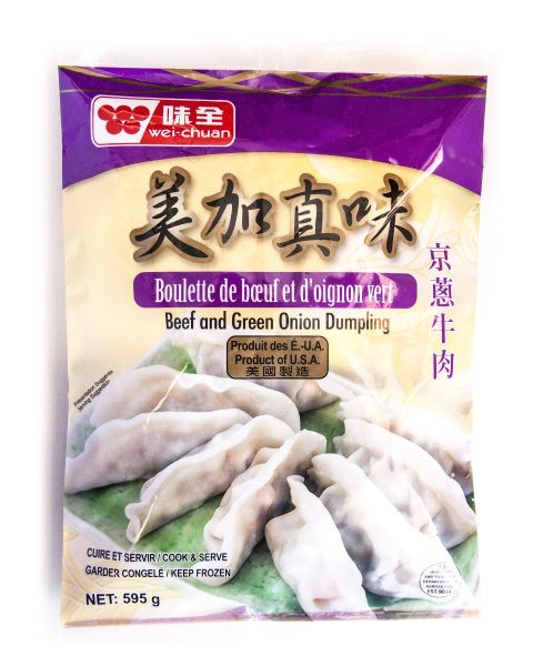 Mei Jia Beef & Green Onion Dumpling (Canada)