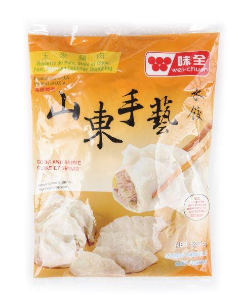 Shan Dong  Pork, Corn & Cabbage Dumpling (Canada)