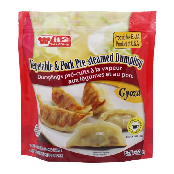 Vegetable & Pork Gyoza Dumpling (Canada)