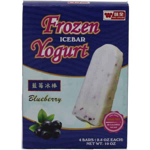 Blueberry Yogurt Ice Bar