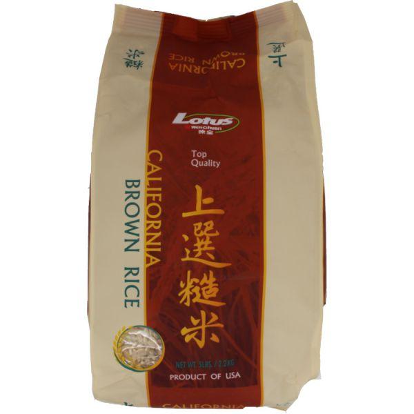 Lotus Brown Rice-5 LB