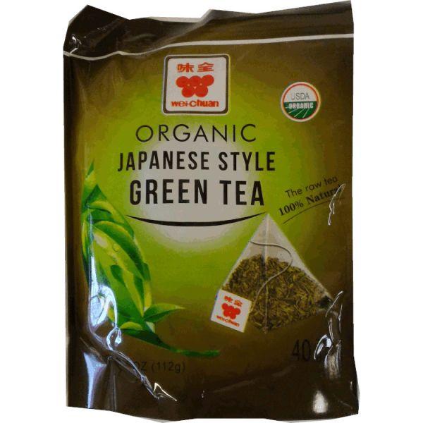 ORGANIC JAPANSE STYLE GREEN TEA