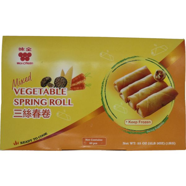FROZEN MIX VEGETABLE SPRING ROLL
