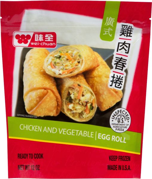 Chicken & Vegetable Egg Roll