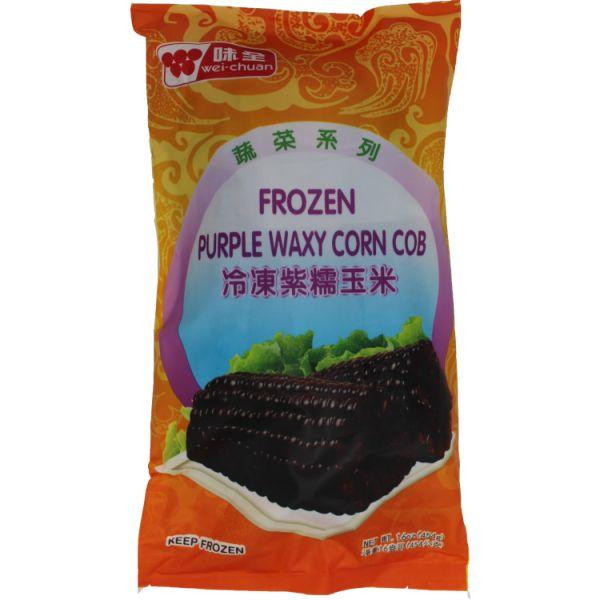 Organic Frozen Purple Waxy Corn Cob