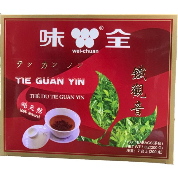 TIE GUAN YIN TEA BAG W/STRING 7oz