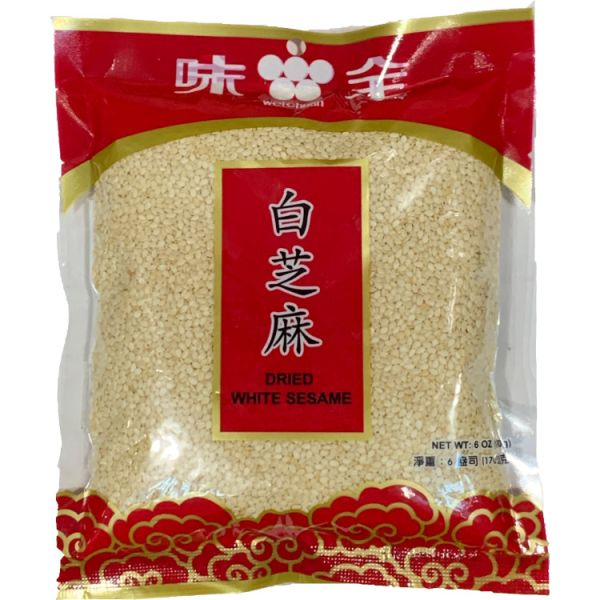 Dried White Sesame Seeds